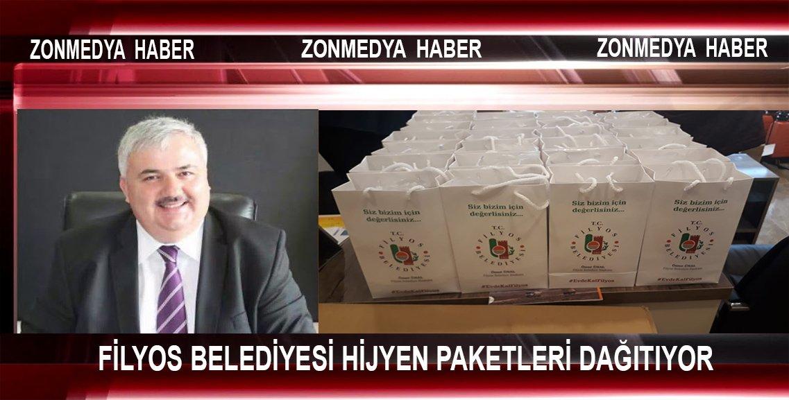 Filyos Belediyesi Hijyen Paketleri Dağıtıyor