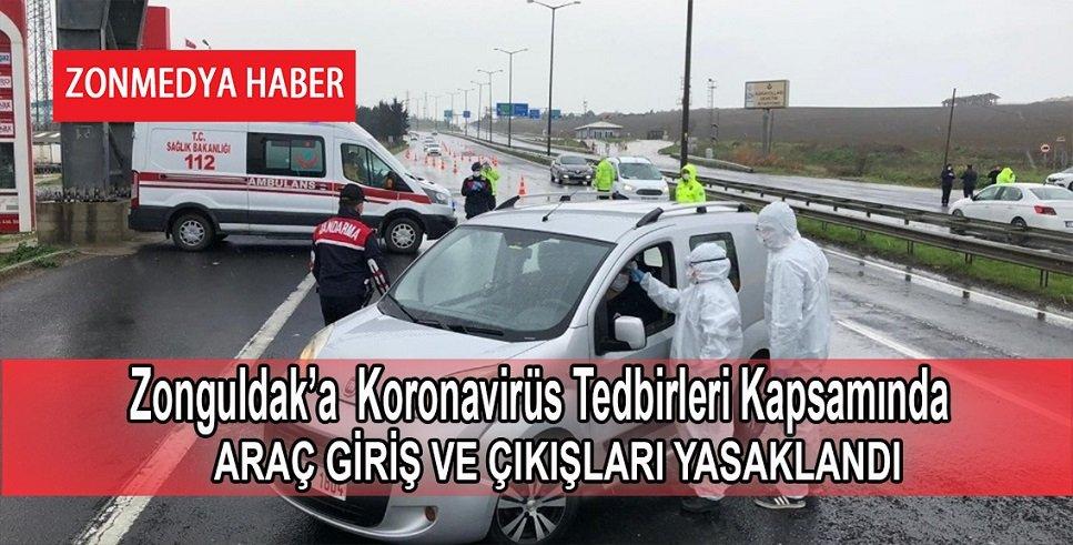 30 Büyükşehir ve Zonguldak'a araç giriş çıkışı yasaklandı