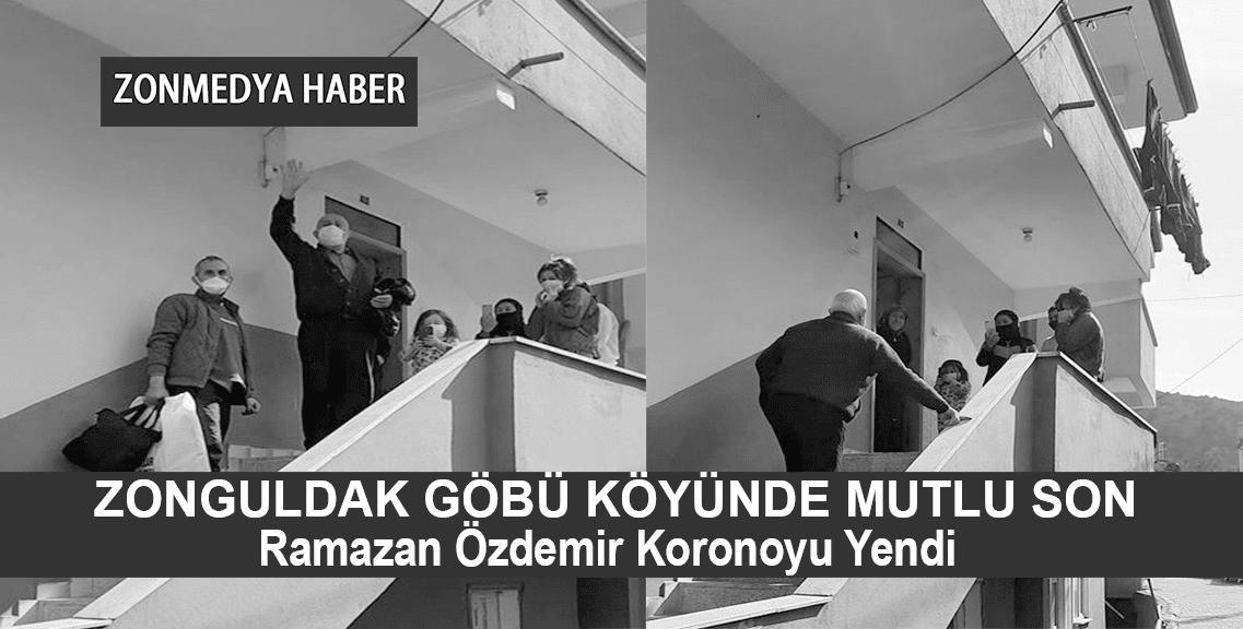 Zonguldak  Göbü Köyünde Mutlu Son… Ramazan Özdemir Koronayı Yendi