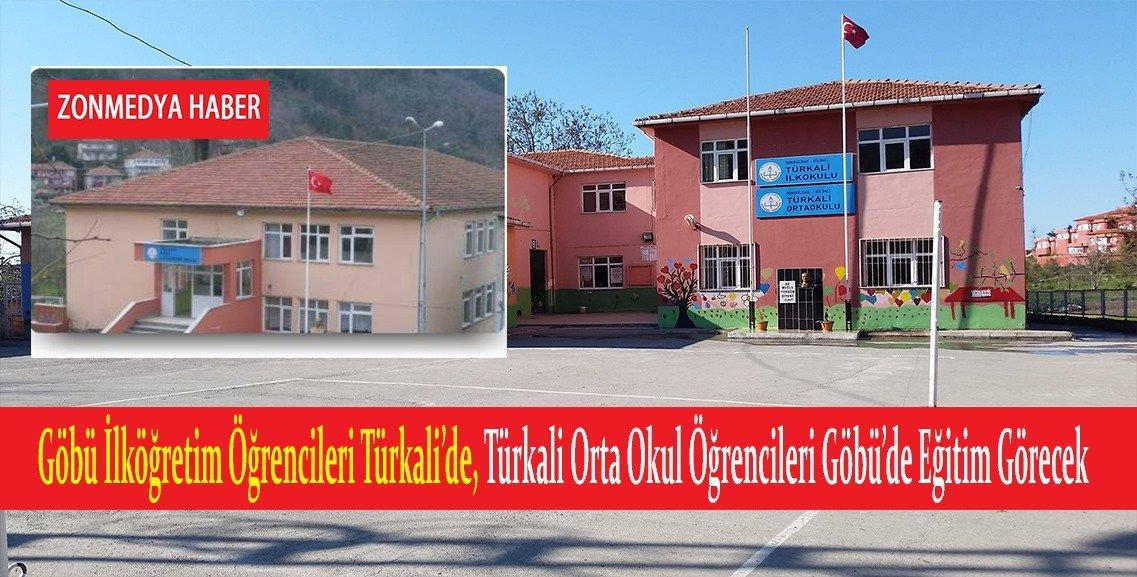Göbü ile Türkali İlköğretim okullarını birleştirme kararı üzüntü yaşattı