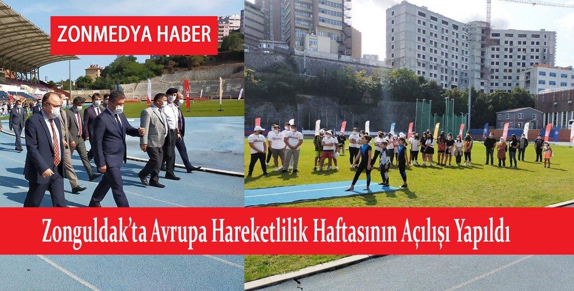 Zonguldak'ta Avrupa Hareketlilik Hastasının Açılışı Yapıldı