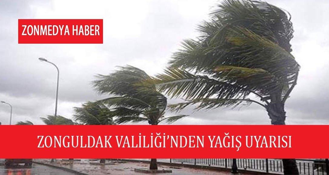 Zonguldak Valiliği'nden Cuma günü için sel ve su baskını uyarısı