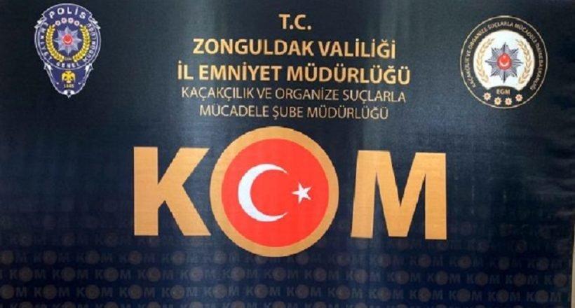 Zonguldak'ta silah ticareti yaptığı iddiasıyla 5 şüpheli yakalandı