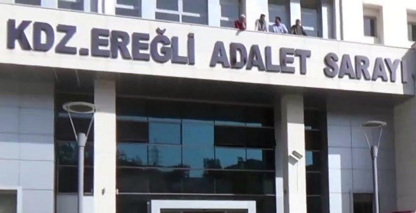 Zonguldak'ta amcasını öldüren  sanığa müebbet hapis cezası veridi.