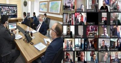 Zonguldak İl Koordinasyon Kurulu Toplantısı Vali Tutulmaz Başkanlığında Yapıldı