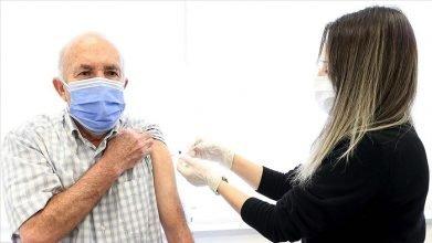 65 yaş ve üzeri vatandaşların Kovid-19 aşılarının yapılmasına başlandı