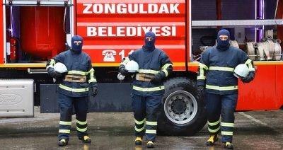 Zonguldak Belediyesi, 41 İtfaiye personelini  yüksek koruma zırhı ile donattı.