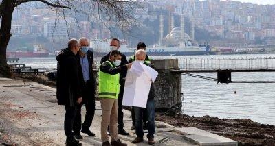 Zonguldak sahil projesi için adımlar tek tek atılıyor