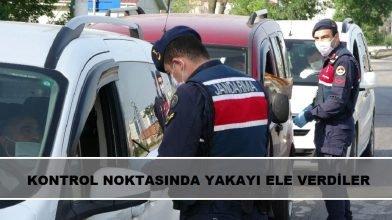 Zonguldak'ta canı sıkılan koronavirüslü aile, kontrol noktasında durduruldu