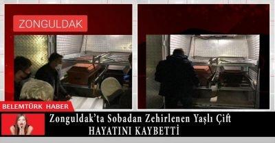 Zonguldak'ta sobadan zehirlenen yaşlı  çift hayatını kaybetti
