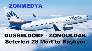SunExpress Havayolları Düsseldorf-Zonguldak seferlerine başlıyor