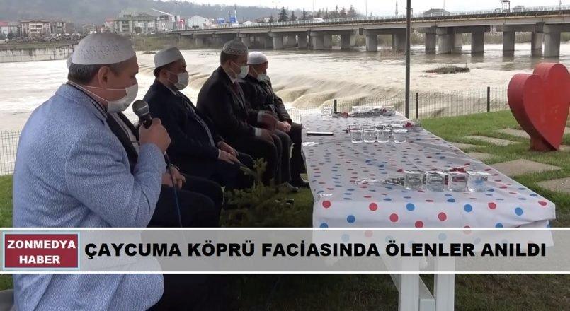 2012 yılında Çaycuma köprü faciasında ölenler anıldı