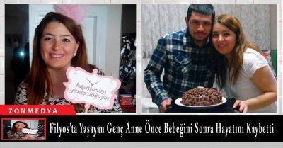 Filyos'ta yaşayan Gülhan Baruönü Sancı önce bebeğini sonra hayatını kaybetti.