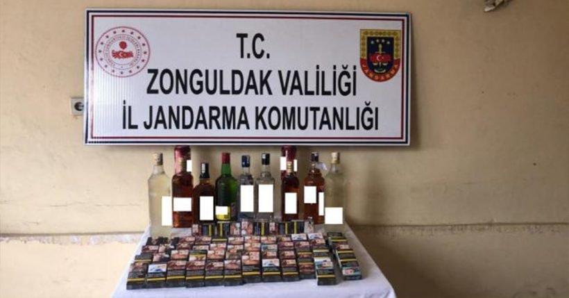 Zonguldak'ın Çatalağzı beldesinde  büfe soyan hırsızları ayak izleri ele verdi.