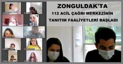 Zonguldak'ta ilkokul çağındaki öğrenciler için 112 acil çağrı merkezinin tanıtım faaliyetleri başladı.