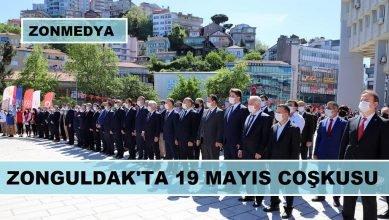 ZONGULDAK'TA 19 MAYIS COŞKUSU