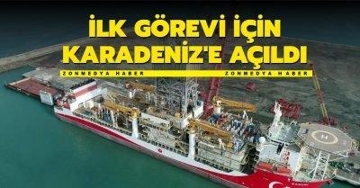 Kanuni Karadeniz'e açıldı: İlk görev Türkali-2'de
