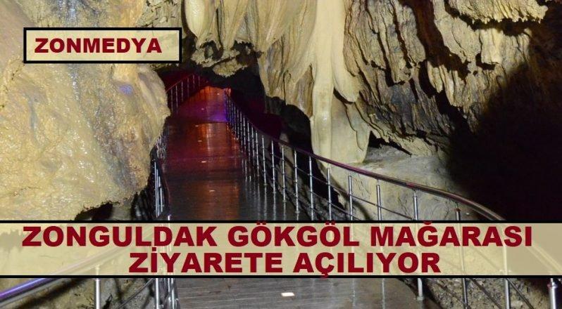 Zonguldak'taki Gökgöl Mağarası ziyarete açılıyor