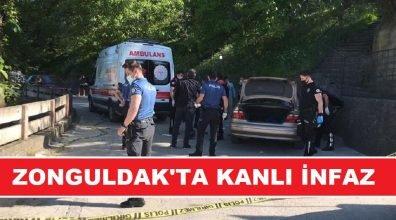 Zonguldak'ta alacak verecek meselesi nedeniyle arabanın içinde kanlı infaz!