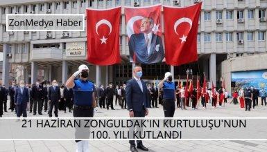 Zonguldak'ın düşman işgalinden kurtuluşu'nun 100. yılı kutlandı