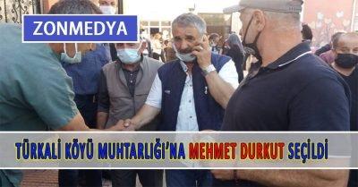 Zonguldak Türkali köyü seçimini yaptı. Mehmet Durkut muhtar seçildi