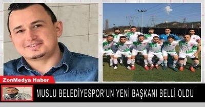 Zonguldak Muslu Belediyespor'un yeni başkanı belli oldu