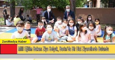 Milli Eğitim Bakanı Selçuk, Bartın'da ziyaretlerde bulundu