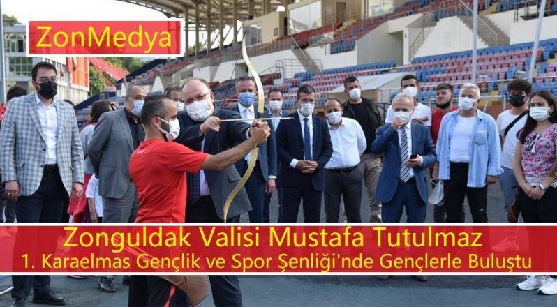 Zonguldak 1. Karaelmas Gençlik ve Spor Şenliği gerçekleştirildi.