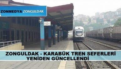 Zonguldak – Karabük tren seferleri yeniden güncellendi