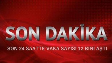TÜRKİYE'DE SON 24 SAATTE VAKA SAYISI 12 BİNİ AŞTI