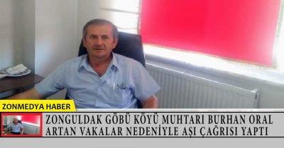Zonguldak Göbü köyü muhtarı Oral, artan vakalar nedeniyle aşı çağrısı yaptı