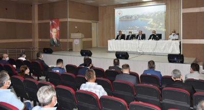 Muhtar Eğitim Semineri ve Ağustos Ayı Muhtarlar Toplantısı Yapıldı