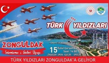 Türk Yıldızları Zonguldak'a Geliyor