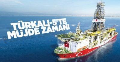 Fatih, Türkali-5 kuyusunda sondaja başladı. Şimdi müjde zamanı!