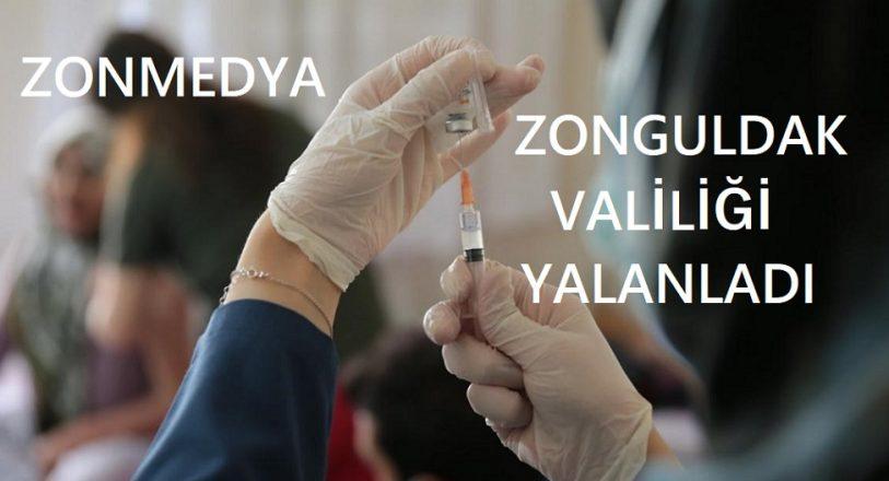 """Zonguldak Valiliği """"Kovid-19 aşılarından bir bölümünün bozuk olduğu"""" iddialarını yalanladı"""